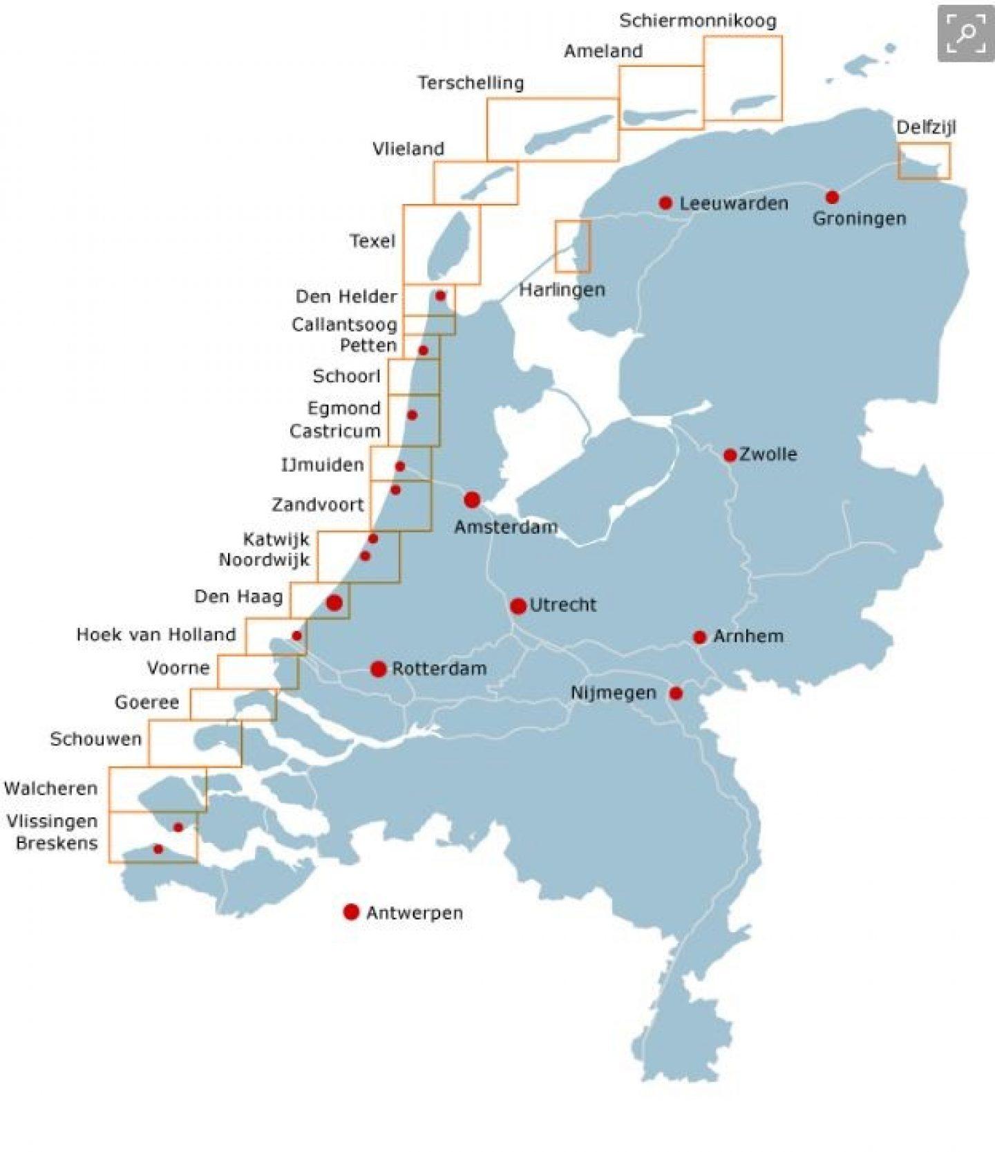 Langs de hele kust voeren toezichthouders controles uit.